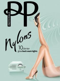 Pretty Polly Nylons Back Seam Tights from Alex Blake - The Online Hosiery Store