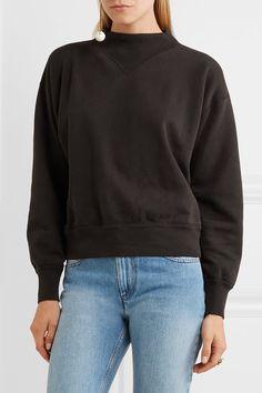 Étoile Isabel Marant - Moby Cotton-blend Jersey Sweatshirt - Black - FR