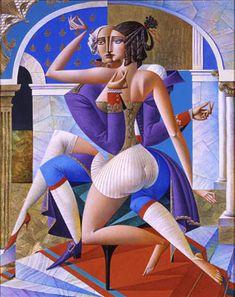 flamenco cubism | Cubismo ruso de Georgy Kurasov - Taringa!