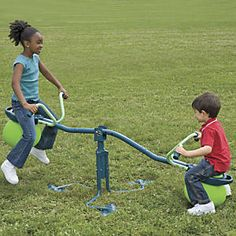 Spiro Hop Teeter-totter Seesaw from One Step Ahead | 2W30459
