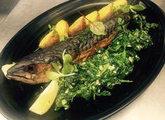 #fish #mackerel #spinach #fishdish