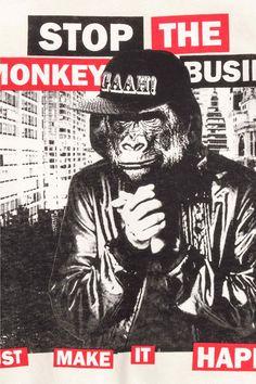 MONKEY BUSINESS - Printed sweatshirt - H&M Boys 8-14 years