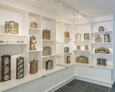 John Bedding exhibition now on at the Leach Pottery.