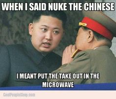 Nuke the Chinese   Cool People Shop
