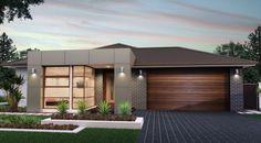 House facade design entrance landscaping 67 New Ideas Modern House Facades, Modern House Plans, Small House Plans, Bungalow Exterior, Modern Exterior, House Front Design, Modern House Design, Facade Design, Exterior Design