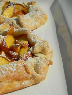 Wonderful Peach Galette! From The Baker's daughter...So good!