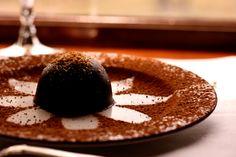 The Napa Valley Wine Train's chocolate tiramisu truffle