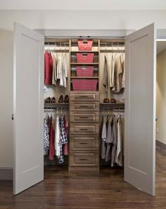Closet Design For Small Walk In Closet
