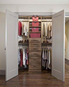Small Walk-In Closet | Small Walk In Closet Layouts | Joy Studio Design Gallery - Best Design