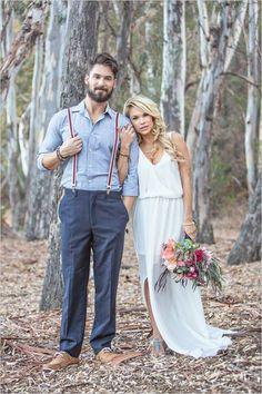 Ideas backyard wedding groom attire dresses for 2019 Wedding Groom, Wedding Attire, Bride Groom, Boho Wedding, Dream Wedding, Bohemian Weddings, Spring Wedding, Wedding Bells, Casual Wedding Dresses