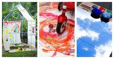 21 Outdoor Art Ideas for Kids