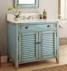 60+ Attractive Rustic Bathroom Vanities Inspirations