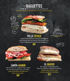 Beautiful Restaurant And Coffee Shop Menus For Inspiration Beautiful Restaurant And Coffee Shop Menu Menue Design, Food Menu Design, Restaurant Menu Design, Restaurant Branding, Restaurant Restaurant, Menu Café, Menu Book, Sandwich Menu, Sandwich Shops