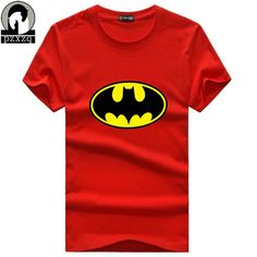 ae569123e7 Click to Buy    2017 New Fashion Brand men T-shirts printed Batman short  sleeve t shirts stretch Cotton cool tees Modal tops blouse S-XXXXXL   Affiliate.