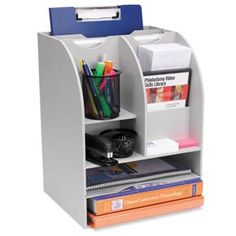 3-WAY DESKTOP ORGANIZER from MARKETLAB