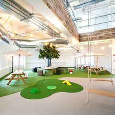 Dublin google and bureaux on pinterest for Interieur plus peer