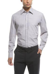Luciano Barbera spread collar dress shirt $350