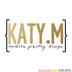 Premade Logo Design /// Katy.M /// Graphic Design by DBNGraphics, $30.00