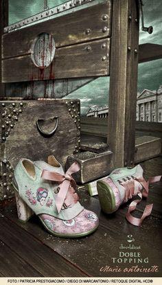 "Shoes - Zapatos Chocolaticas Doble Topping ""Maria Antoniette"" de Hot Chocolate Design"