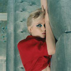 Lucy Boynton for Rollacoaster Prada, Lucy Boynton, Dior, Vogue China, T Magazine, Gucci, Vogue Japan, Blue Eyeshadow, Purple Fashion