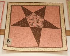 Cowgirl quilt, would look cute for a cowboy too, in different colors.