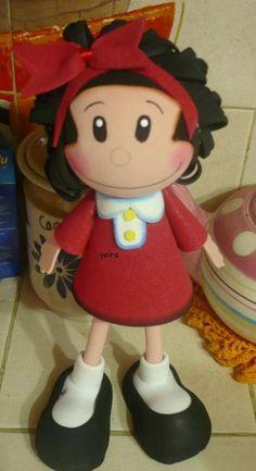 Fofuchas Eva e Cia: Fofucha Mafalda