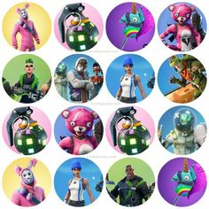 The Bfr est & Biggest Free Fortnite Party Ideas List – Party Ideas Superhero Birthday Party, Unicorn Birthday Parties, Birthday Party Themes, 10th Birthday, Kids Party Decorations, Party Ideas, Cupcake Toppers Free, Party Printables, Free Printables
