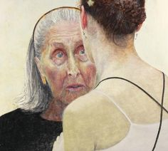 Jenny Sages: Irina Baronova (handing on the baton) :: Archibald Prize 2007 :: :: Art Gallery NSW