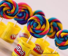 Play-doh Cookies - For all your cake decorating supplies, please visit craftcompany.co.uk