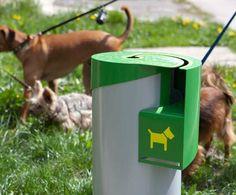 Designer Dog Waste Disposal Bin Throws Indiscriminate Dumpers A Curve…