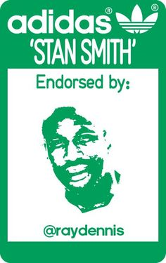 Love this Twitter promotion by adidas Originals to commemorate the relaunch of the Stan Smith tennis shoe