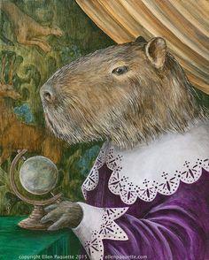 "Capibara ""Barnabas Fritz di Bara"""
