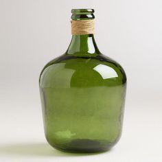 Green Teardrop Seville Vase at Cost Plus World Market >>#WorldMarket Glasgow Fog Collection