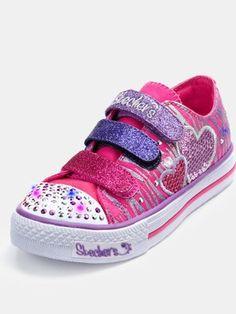 ffc152245923 Skechers Twinkle Toes Peace N  Love Light-up Sneakers  Kids  Shoes ...