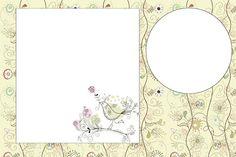 Jardim Encantado Vintage- Kit Completo com molduras para convites, rótulos para guloseimas, lembrancinhas e imagens! |Fazendo a Nossa Festa