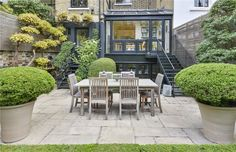 6 bedroom terraced house for sale in Pelham Crescent, Knightsbridge, London, - Rightmove. Side Return Extension, 6 Bedroom House, Open Plan Living, Property For Sale, Knight, Exterior, Patio, London, Outdoor Decor
