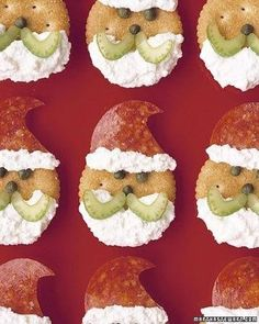 Cute christmas snack for the littlies x x x