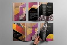 Corporate Brochure by Graphicidenic on @creativemarket