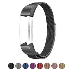 Fitbit Alta HR and Alta Bands Metal Swees Milanese Stainless Steel Replacement Accessories Metal Small  Large Band for Fitbit Alta HR and Alta Grey * Be sure to check out this awesome product. (This is an affiliate link) #FitnessWristbands
