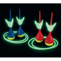 Glow in the Dark Lawn Darts - For $30, this is a fun idea when the kids are restless at night and insist on playing outside.