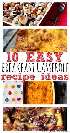 10 Easy Breakfast Casseroles