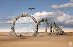 Last Gate by Max Mitenkov, via Behance