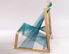 holz stuhl bambus innovative konstruktion | makerhouse | pinterest, Möbel