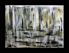 """""""Reflection"""" 2014 acrilico su foglio telato 50x70"""