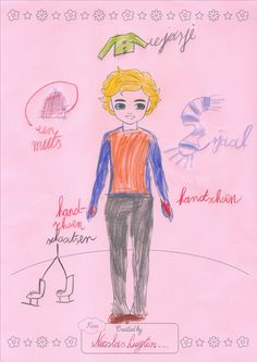 Lottie Outfit Design Competition - Nicolas, who is 8 years old and really likes ice skating (figure skating), has came up with a fantastic outfit design and idea for Finn! He would like to have an ice skating Finn doll with real ice skates and a (figure) skating outfit with jacket, gloves, scarf, and hat. We think this is a super idea Nicolas, we think Finn would love skating just as much as you do! Excellent work! Thanks so much for sharing this super idea Nicolas! :)