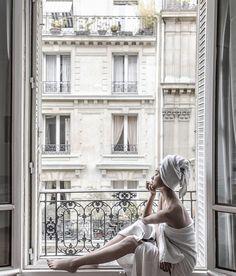 "Paris Whites - ""Sunday"" by Margaret Zhang in Paris, Rue de Villersexel Apartment Best Vacation Destinations, Best Vacations, Paris Balcony, French Balcony, Tableaux Vivants, Belle France, In Vino Veritas, To Infinity And Beyond, Paris Photos"
