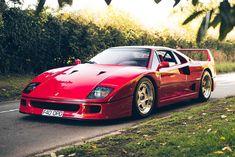 Drive Off Into The Sunset Aboard This Immaculate Classic Ferrari Supercar Ferrari F40, Maserati, Bugatti, Lamborghini Gallardo, Audi, Porsche, Cadillac, Nascar, Jaguar Xk