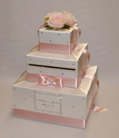 Hey, I found this really awesome Etsy listing at https://www.etsy.com/listing/231216950/ivory-and-blush-pink-wedding-card-box