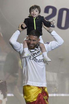 Sergio Jr y papá