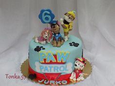 Paw patrol torta, autorka: Tonka57, Tortyodmamy.sk